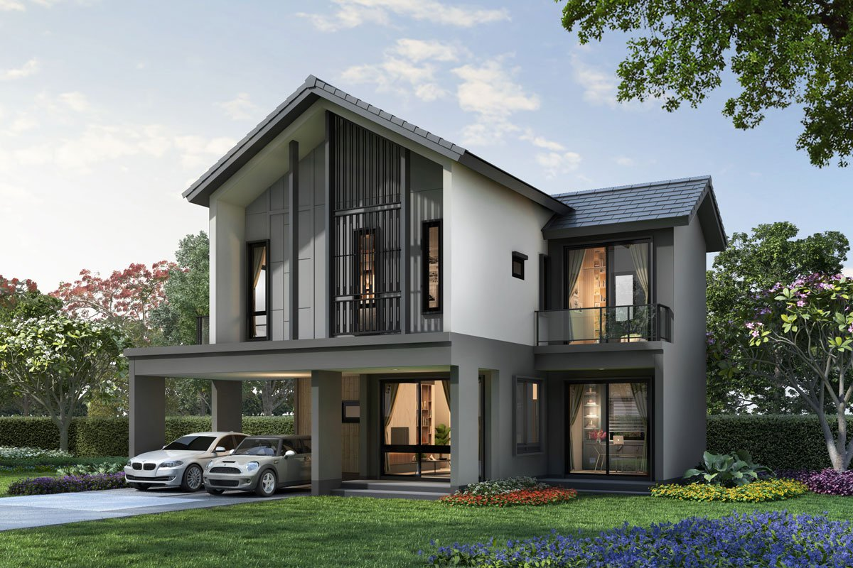 บ้านจัดสรรดีไซน์ปัง