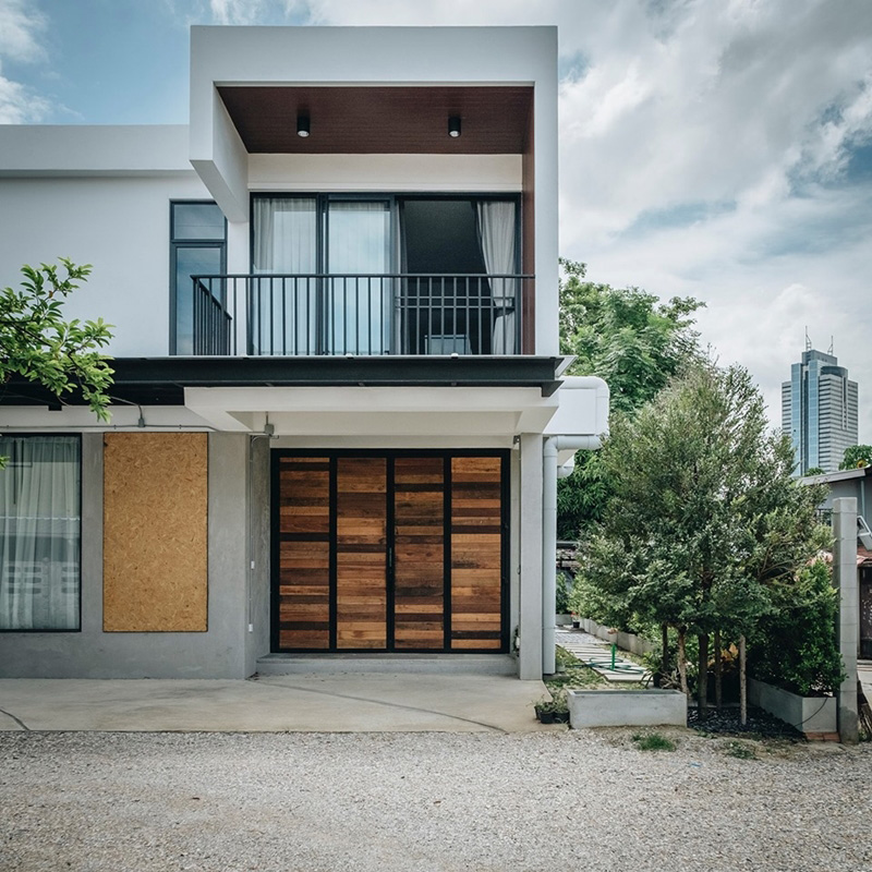 luxury modern classic house style