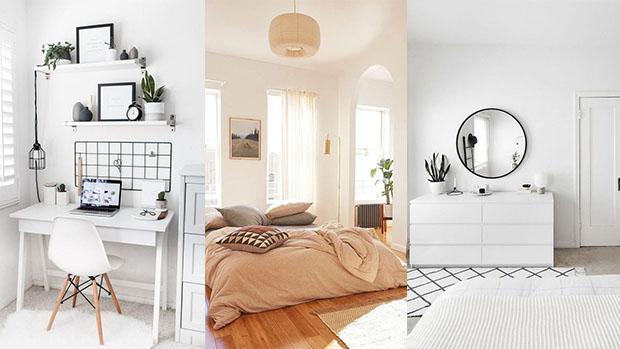ออกแบบแต่งห้องนอน มินิมอล